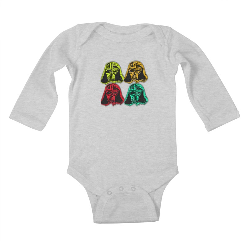 vaderen retro Kids Baby Longsleeve Bodysuit by joe's shop