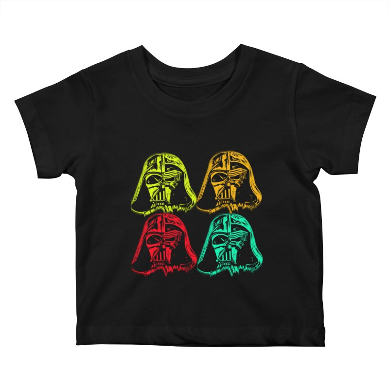 vaderen retro Kids Baby T-Shirt by joe's shop