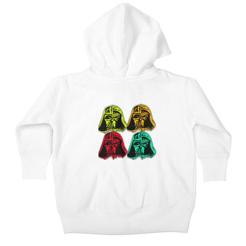 vaderen retro Kids Baby Zip-Up Hoody by joe's shop