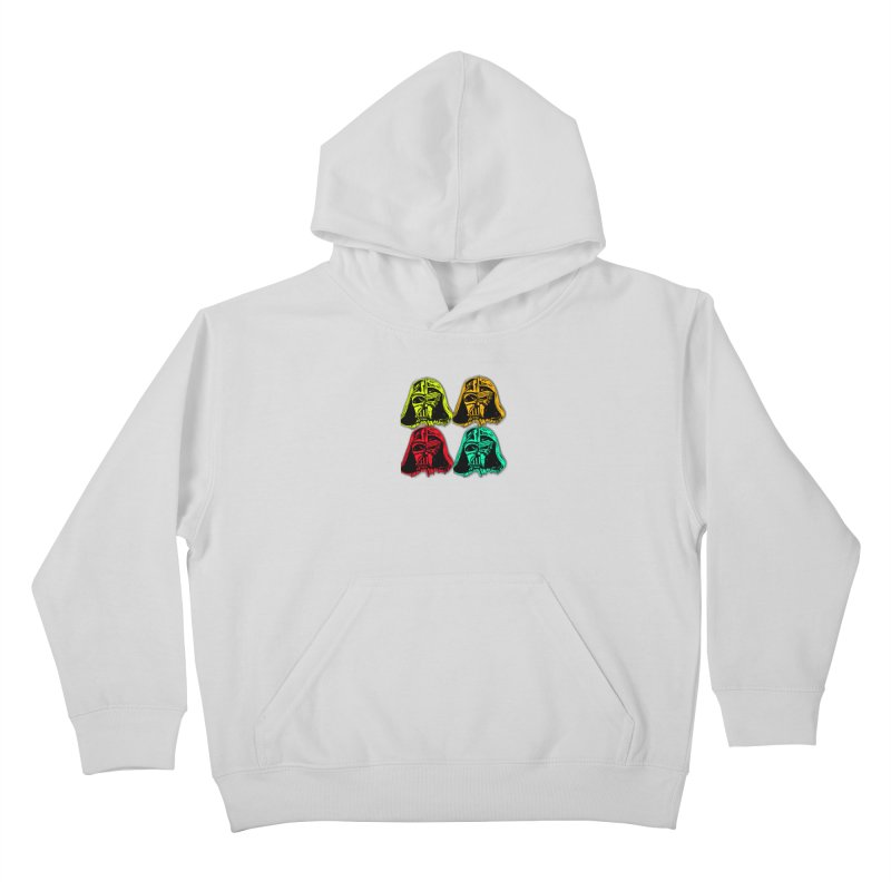vaderen retro Kids Pullover Hoody by joe's shop
