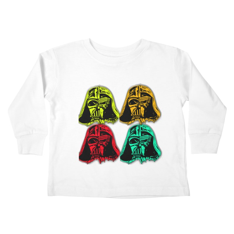 vaderen retro Kids Toddler Longsleeve T-Shirt by joe's shop