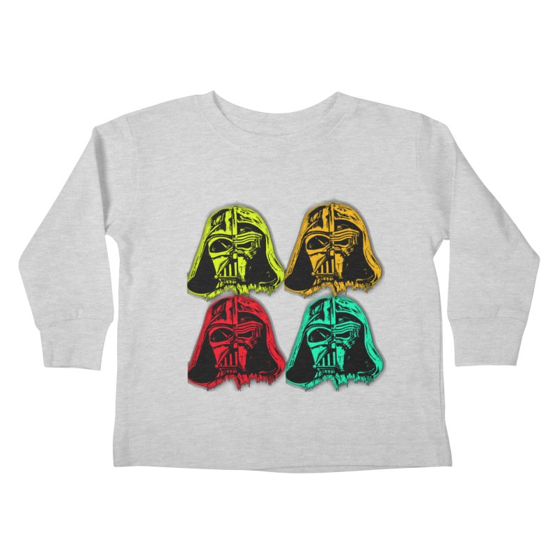 vaderen retro Kids Toddler Longsleeve T-Shirt by joe's shop
