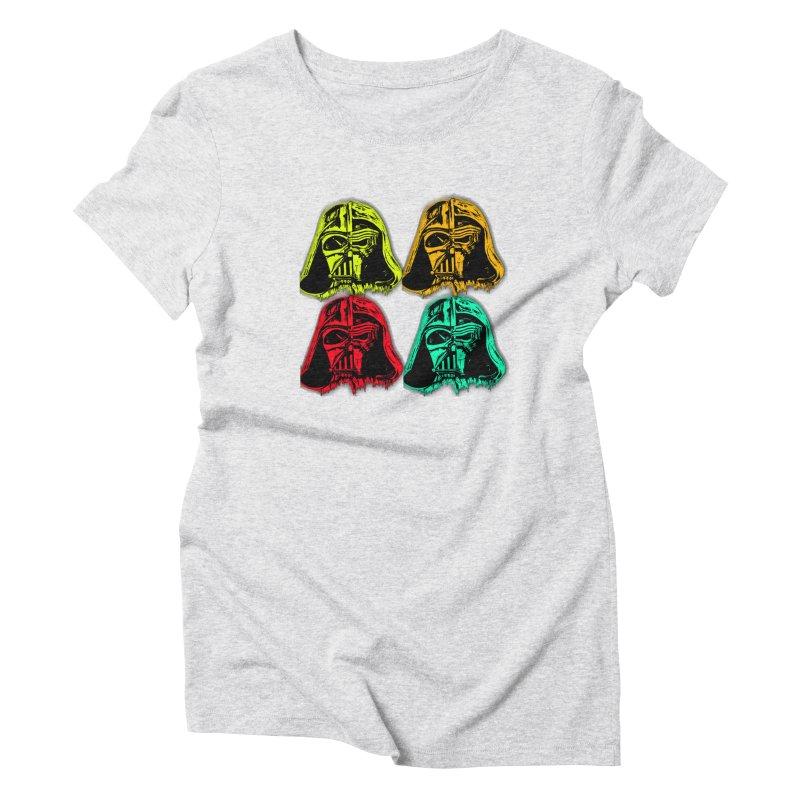 vaderen retro Women's Triblend T-Shirt by joe's shop