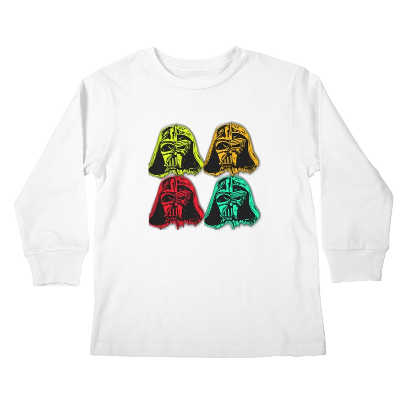 vaderen retro Kids Longsleeve T-Shirt by joe's shop