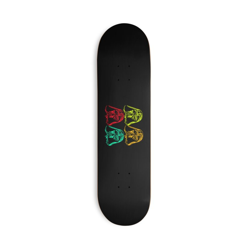 vaderen retro Accessories Deck Only Skateboard by joe's shop