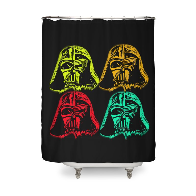 vaderen retro Home Shower Curtain by joe's shop