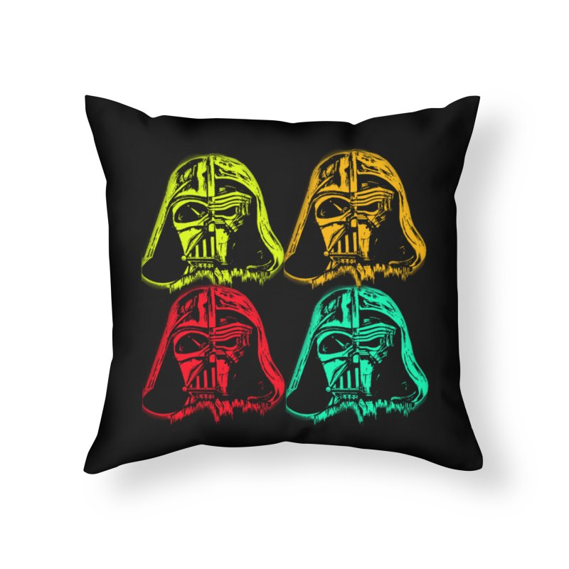 vaderen retro Home Throw Pillow by joe's shop
