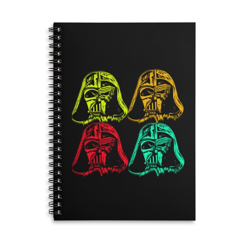 vaderen retro Accessories Lined Spiral Notebook by joe's shop