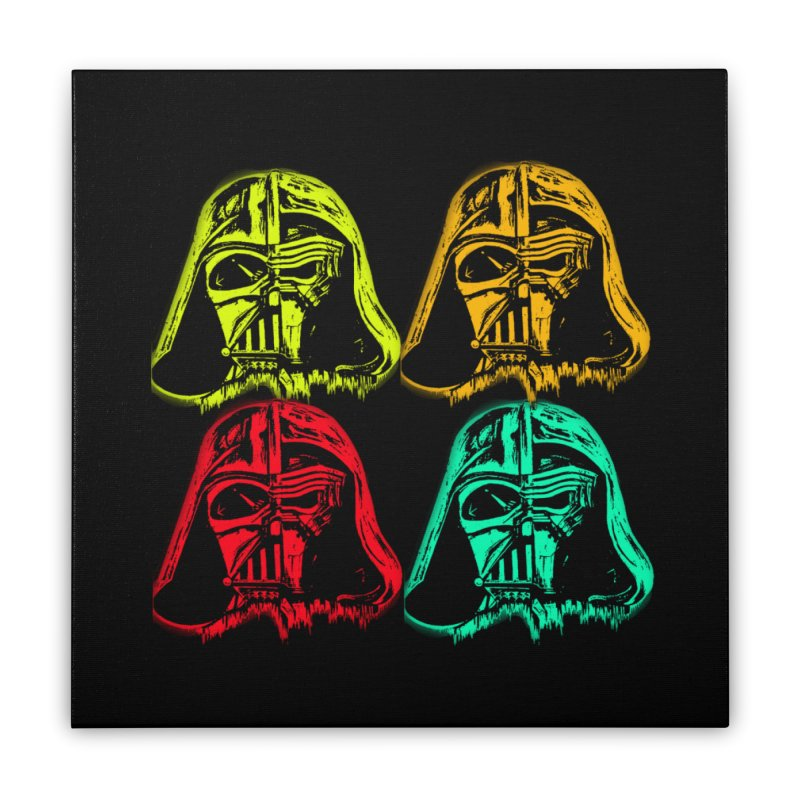 vaderen retro Home Stretched Canvas by joe's shop