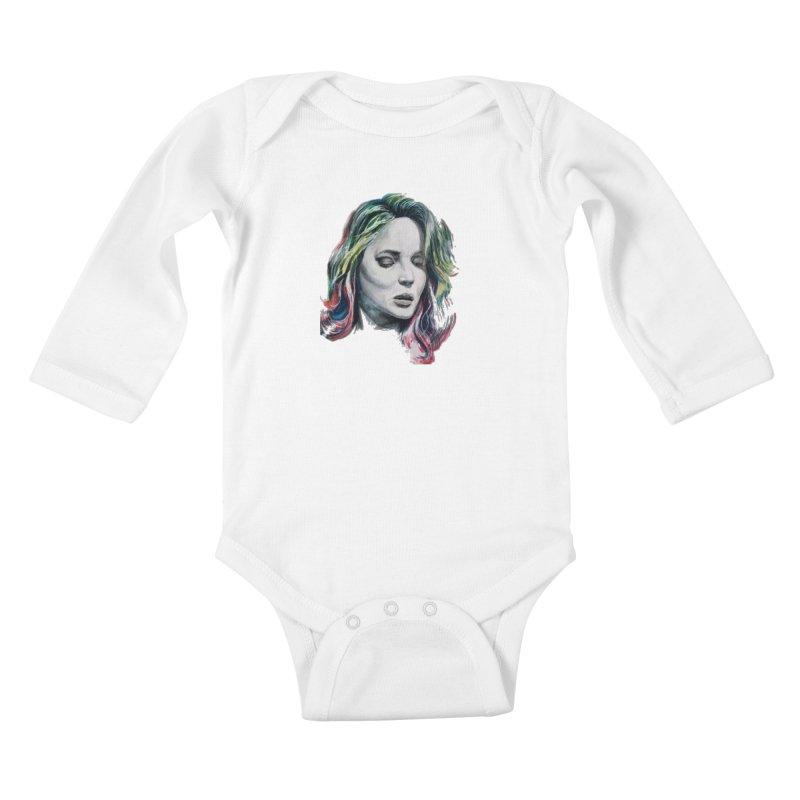 wcw Kids Baby Longsleeve Bodysuit by joe's shop