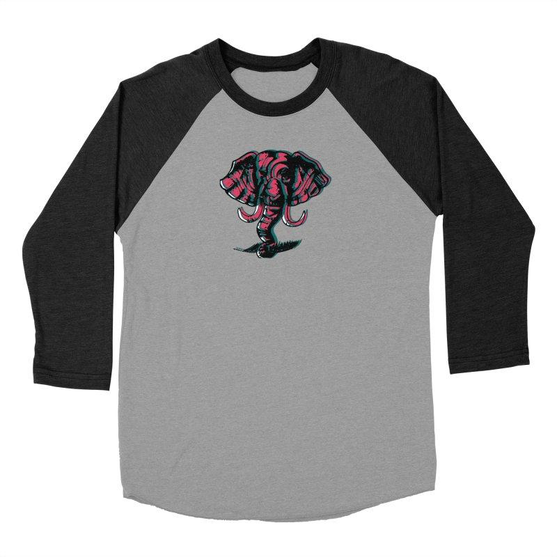 elefanta Men's Baseball Triblend Longsleeve T-Shirt by joe's shop
