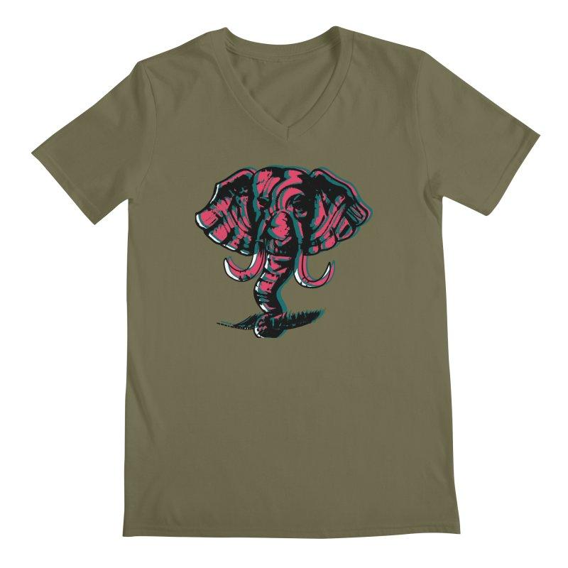 elefanta Men's Regular V-Neck by joe's shop