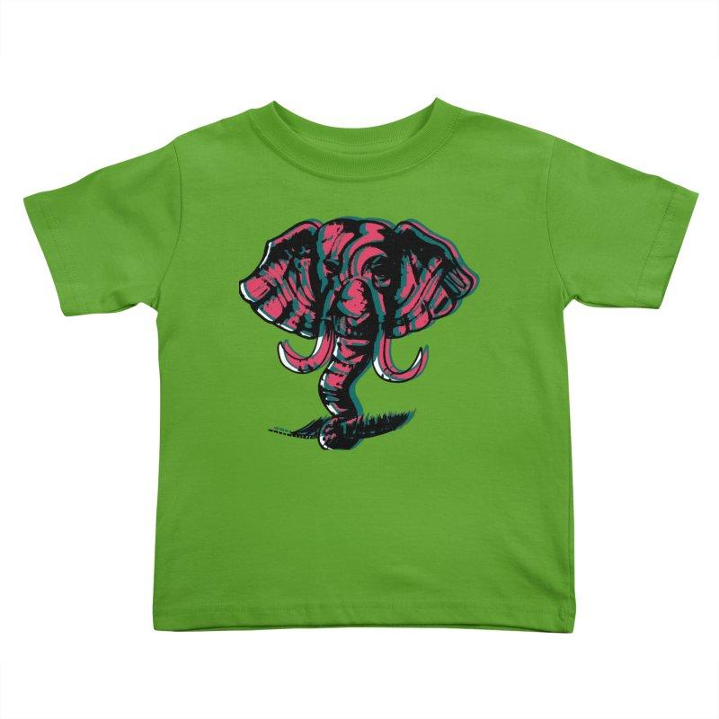 elefanta Kids Toddler T-Shirt by joe's shop