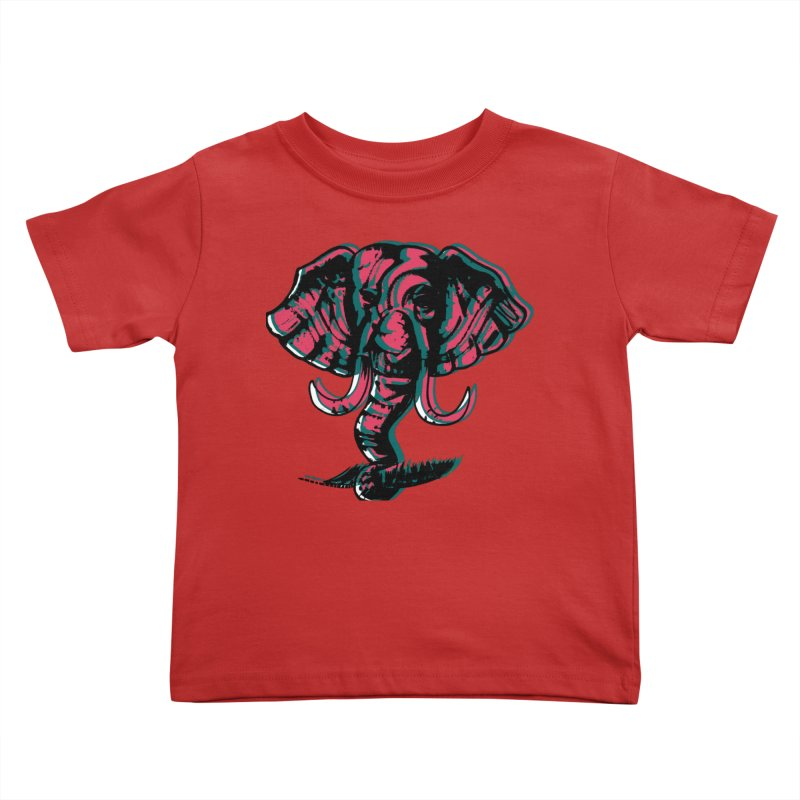elefanta Kids Toddler T-Shirt by joe's shop