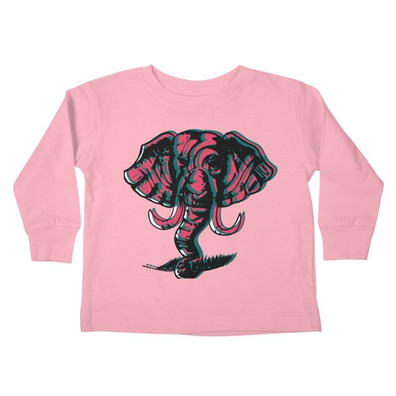 elefanta Kids Toddler Longsleeve T-Shirt by joe's shop