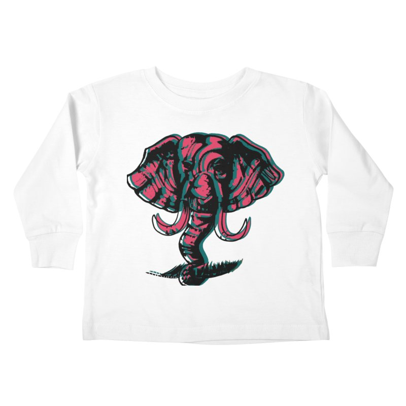 elefanta Kids Toddler Longsleeve T-Shirt by joe's shop