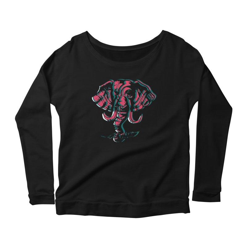elefanta Women's Scoop Neck Longsleeve T-Shirt by joe's shop