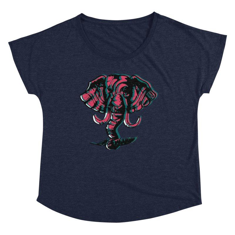 elefanta Women's Dolman Scoop Neck by joe's shop
