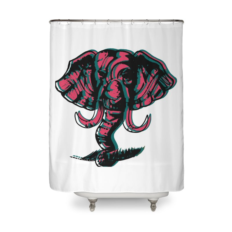 elefanta Home Shower Curtain by joe's shop