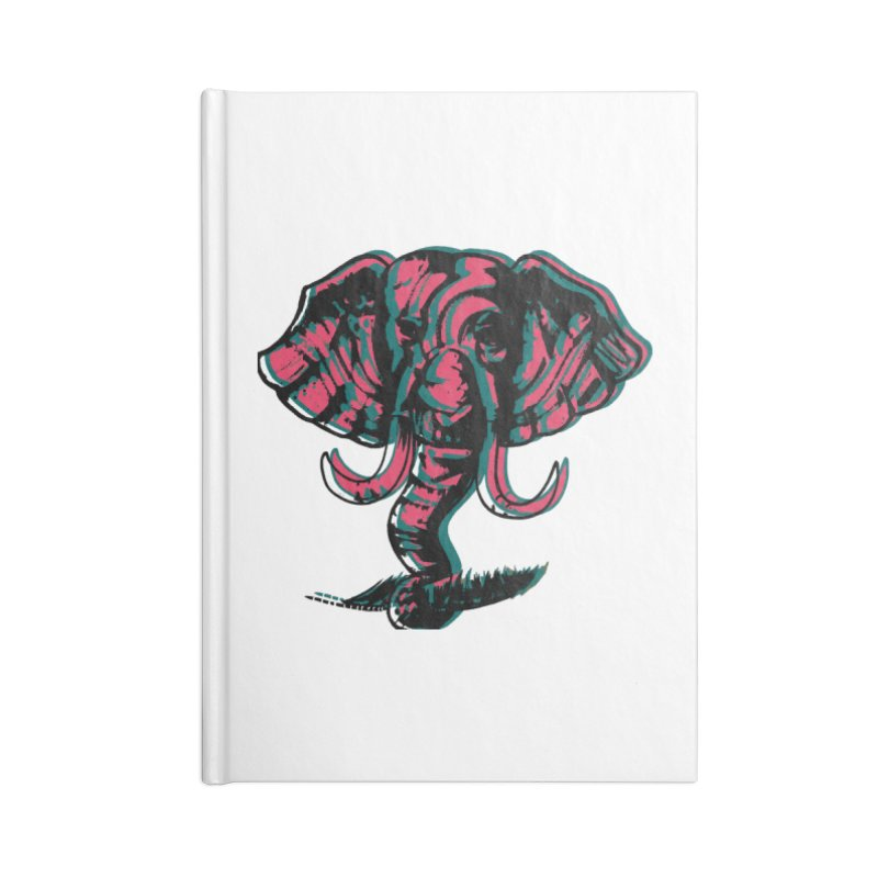 elefanta Accessories Blank Journal Notebook by joe's shop