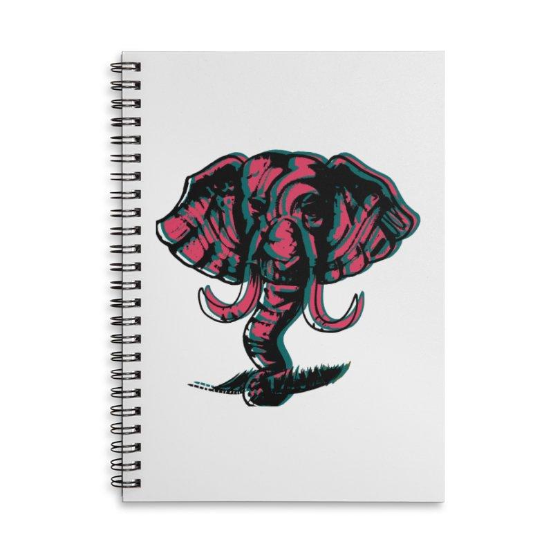 elefanta Accessories Lined Spiral Notebook by joe's shop