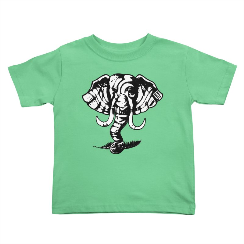 elefante  Kids Toddler T-Shirt by joe's shop