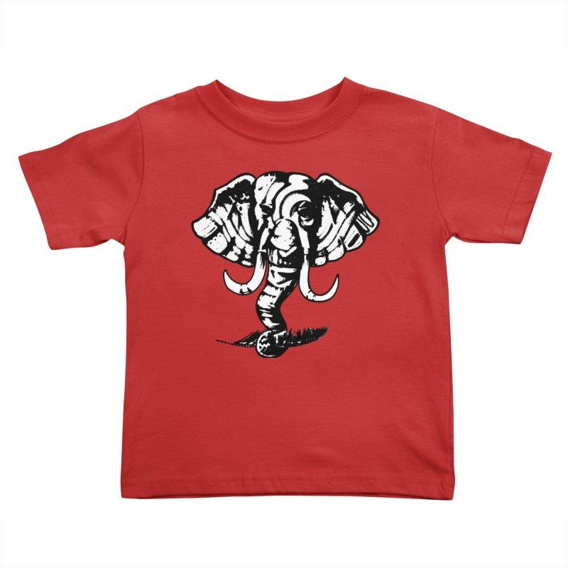 elefante  Kids Toddler T-Shirt by joe's shop