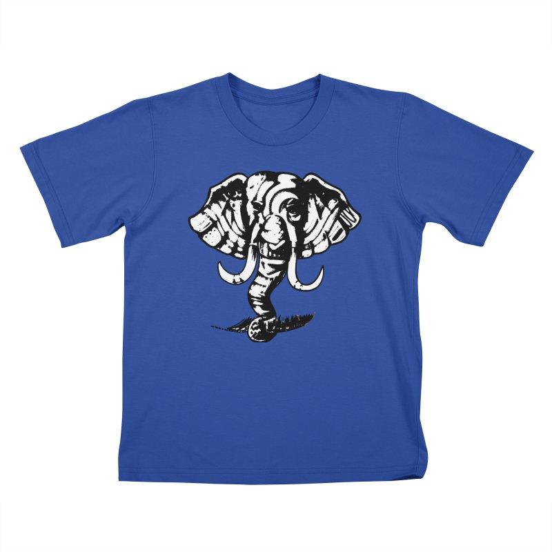 elefante  Kids T-Shirt by joe's shop