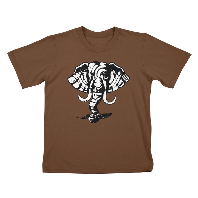 elefante  Kids T-Shirt by joe's shop