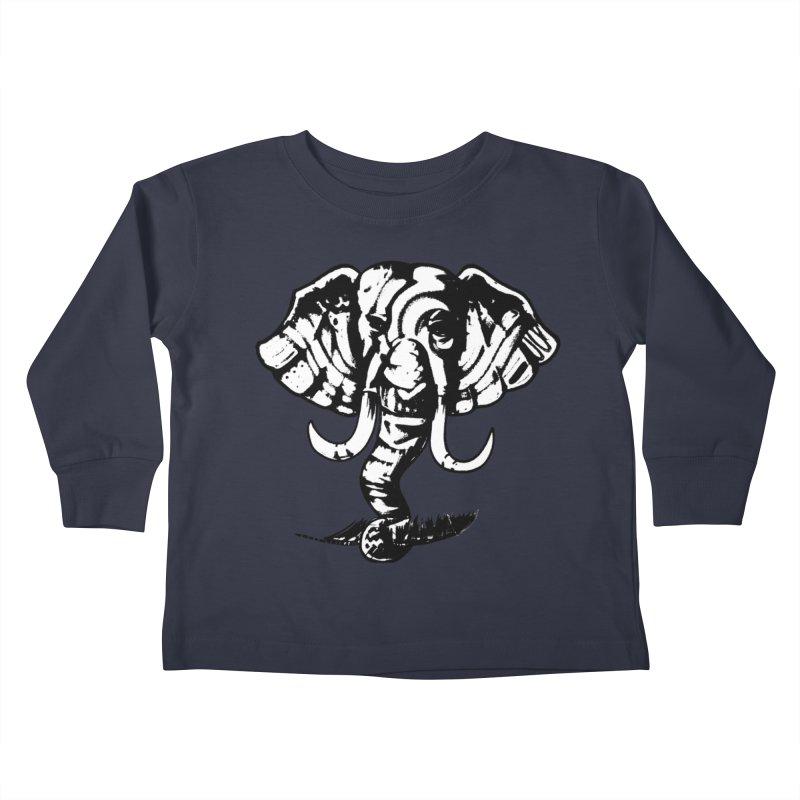 elefante  Kids Toddler Longsleeve T-Shirt by joe's shop