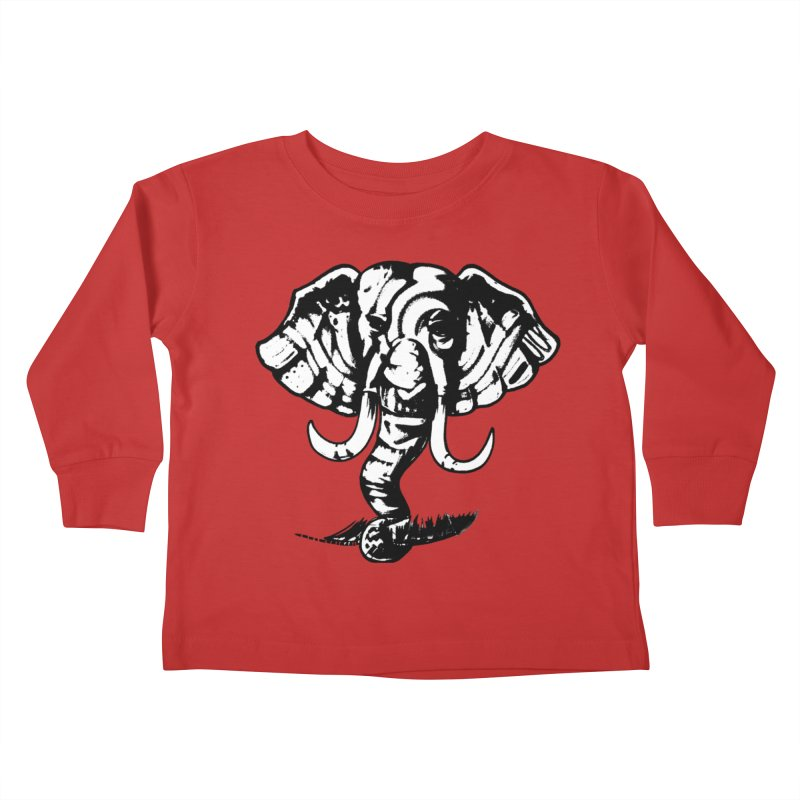 elefante  Kids Toddler Longsleeve T-Shirt by joe's shop