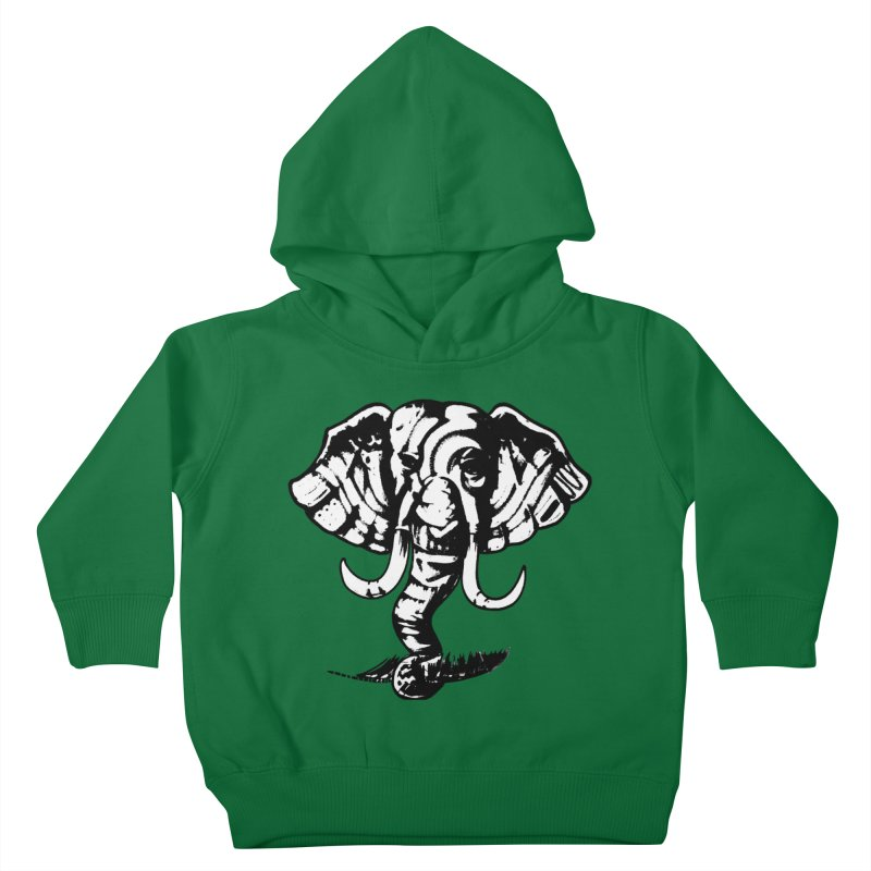 elefante  Kids Toddler Pullover Hoody by joe's shop