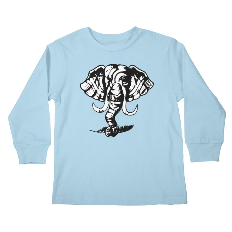 elefante  Kids Longsleeve T-Shirt by joe's shop