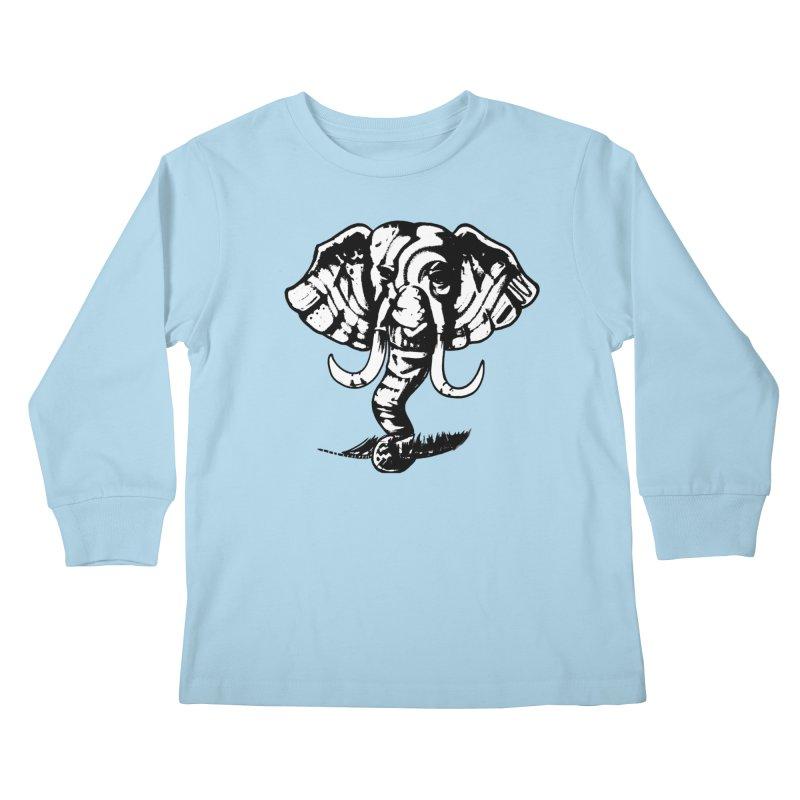 elefante  Kids Longsleeve T-Shirt by joe's shop