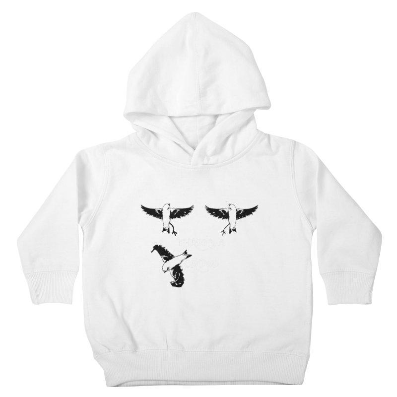 three little birds Kids Toddler Pullover Hoody by joe's shop