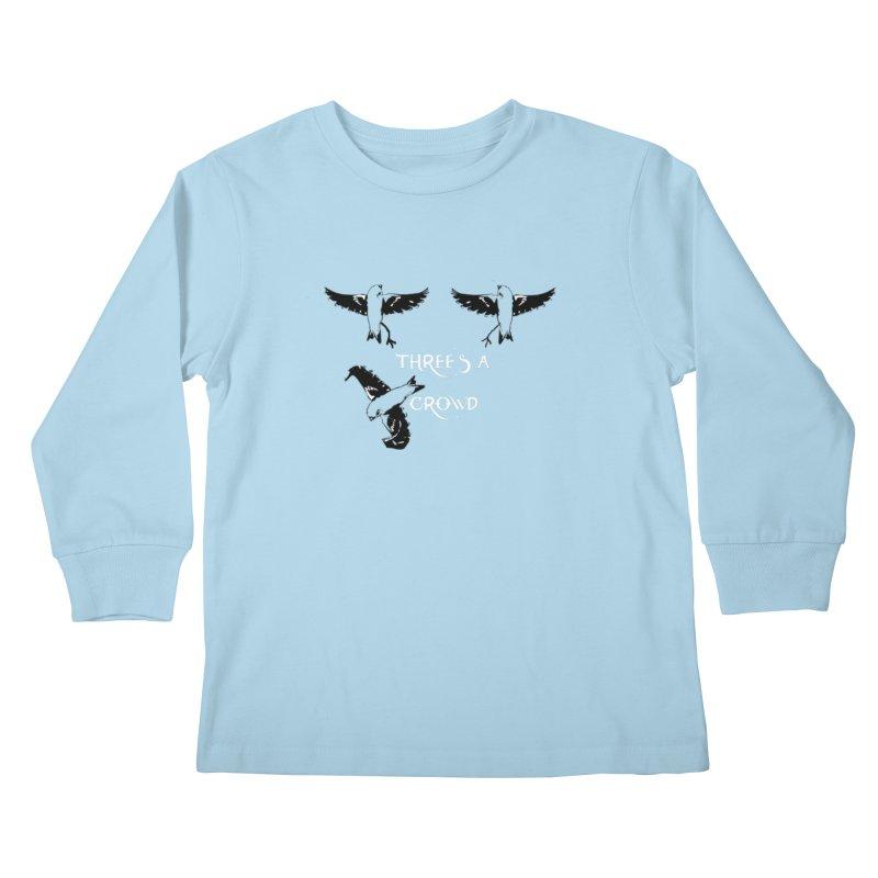 three little birds Kids Longsleeve T-Shirt by joe's shop