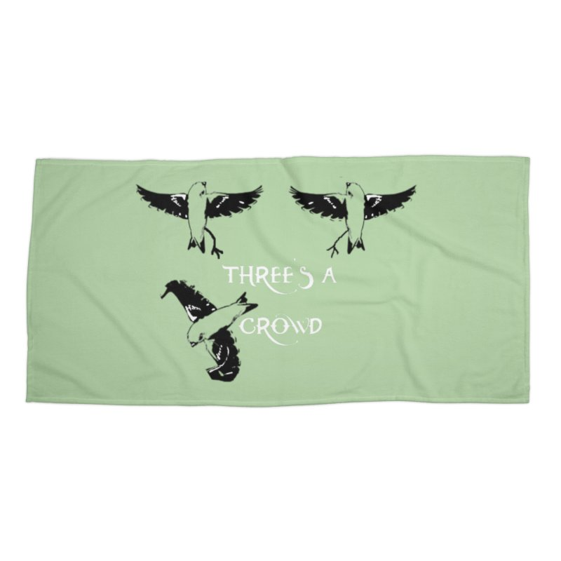 three little birds Accessories Beach Towel by joe's shop