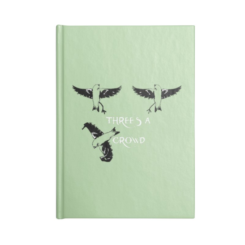 three little birds Accessories Blank Journal Notebook by joe's shop