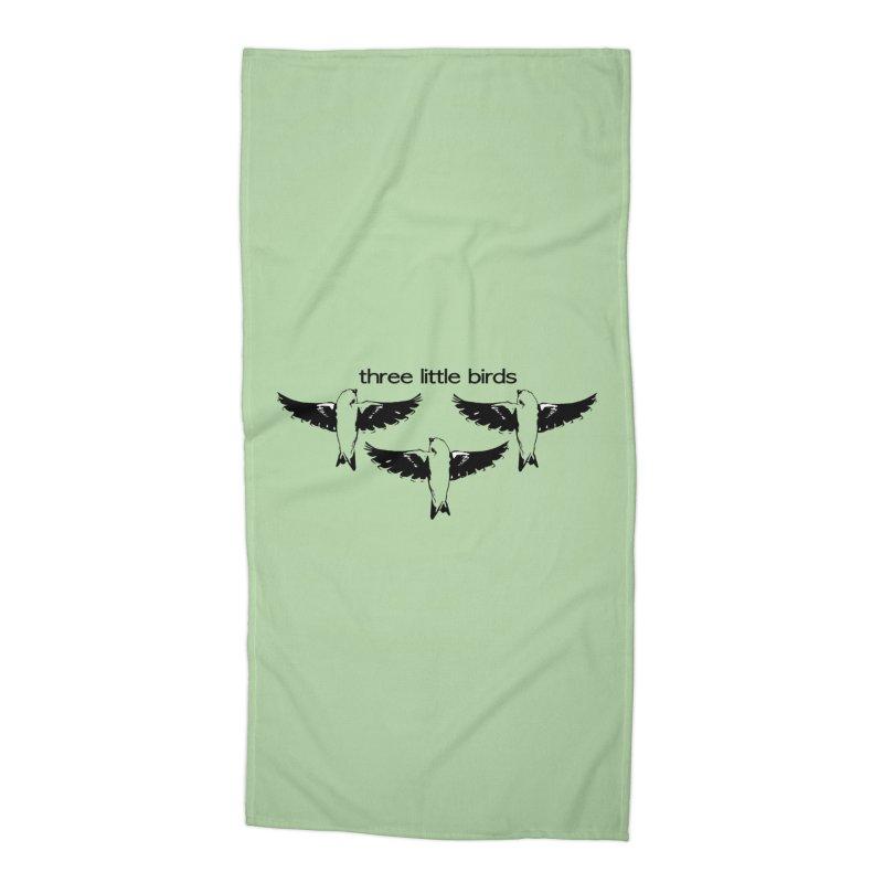 three little birds Accessories Beach Towel by joe's shop