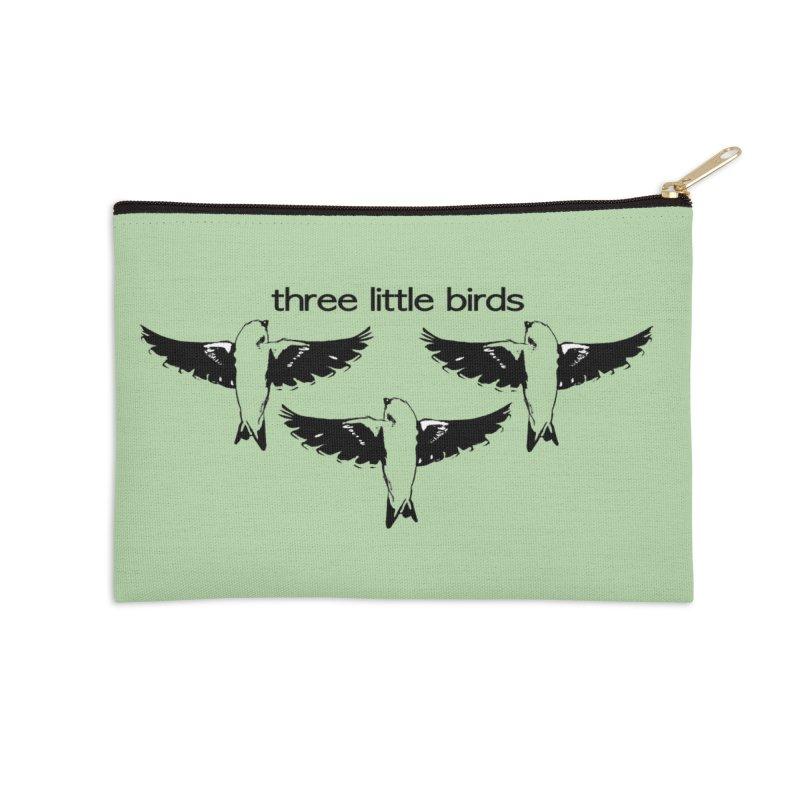 three little birds Accessories Zip Pouch by joe's shop