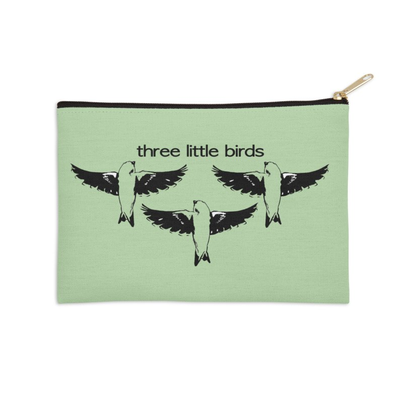 three little birds Accessories Zip Pouch by joe's shop