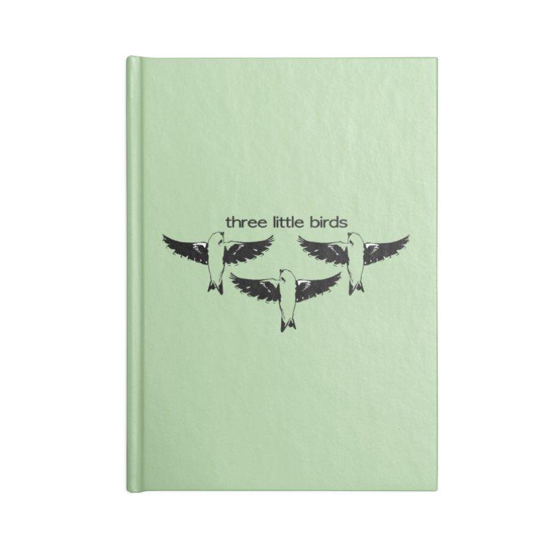 three little birds Accessories Lined Journal Notebook by joe's shop