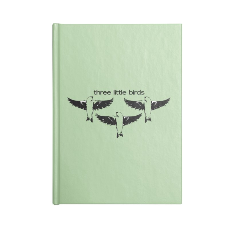 three little birds Accessories Blank Journal Notebook by joe's shop