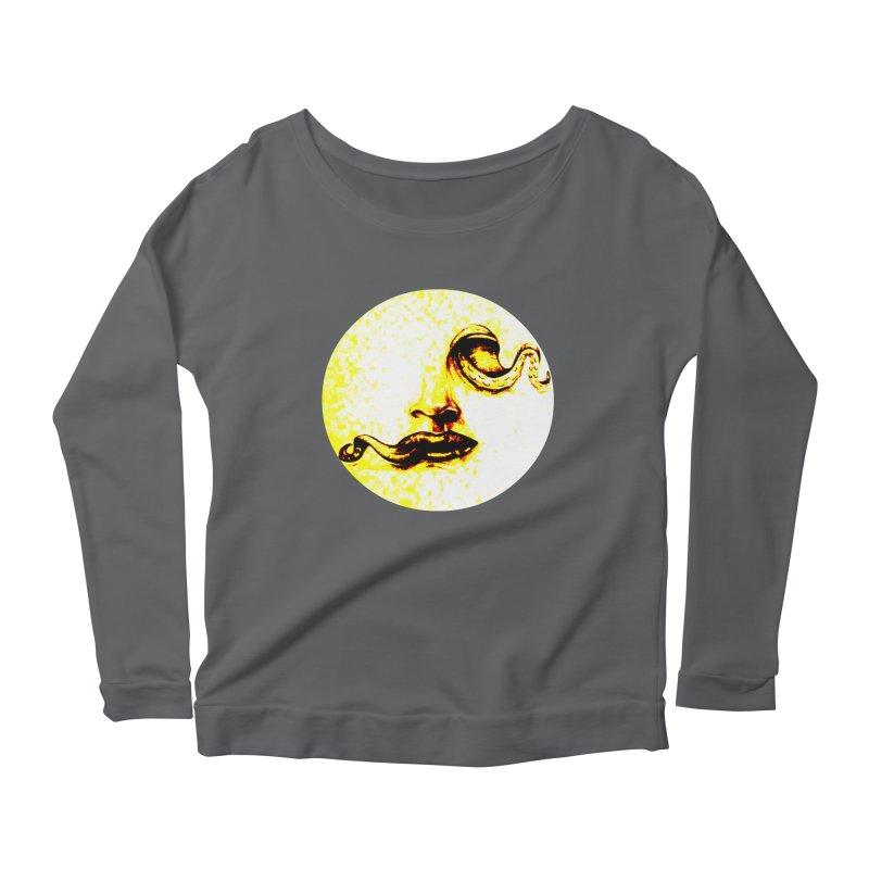 inside Women's Scoop Neck Longsleeve T-Shirt by joe's shop