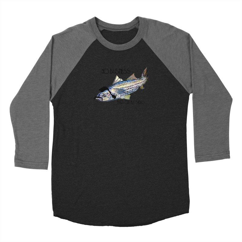 mullet Men's Baseball Triblend Longsleeve T-Shirt by joe's shop