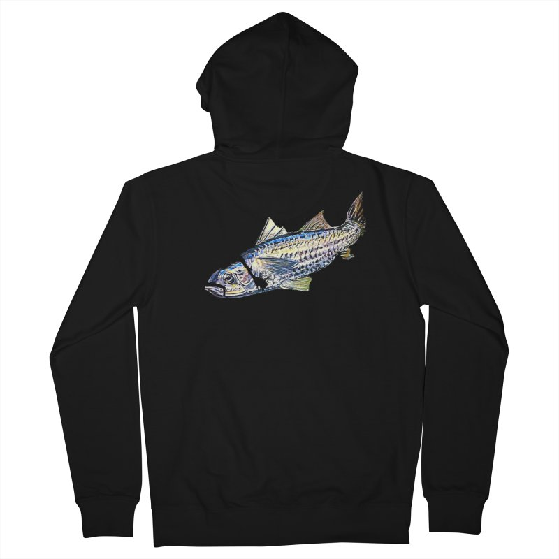 mullet Men's Zip-Up Hoody by joe's shop
