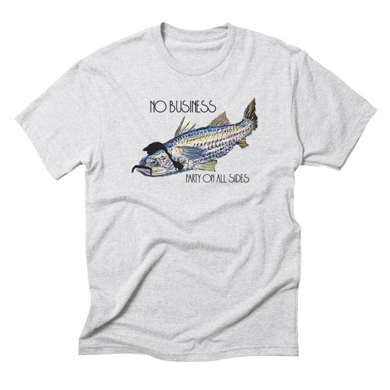 mullet Men's Triblend T-Shirt by joe's shop