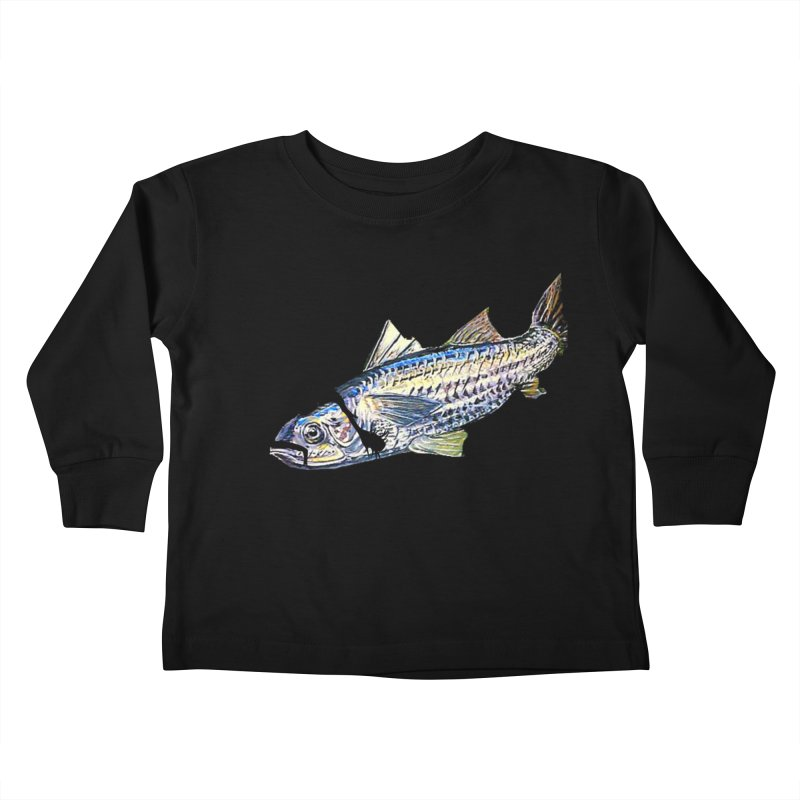 mullet Kids Toddler Longsleeve T-Shirt by joe's shop