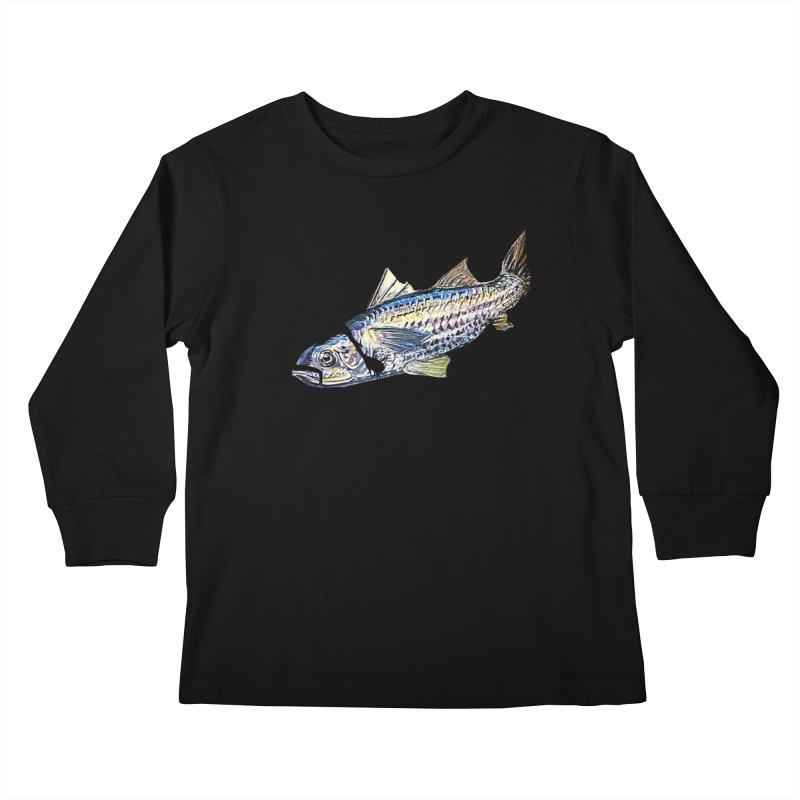 mullet Kids Longsleeve T-Shirt by joe's shop