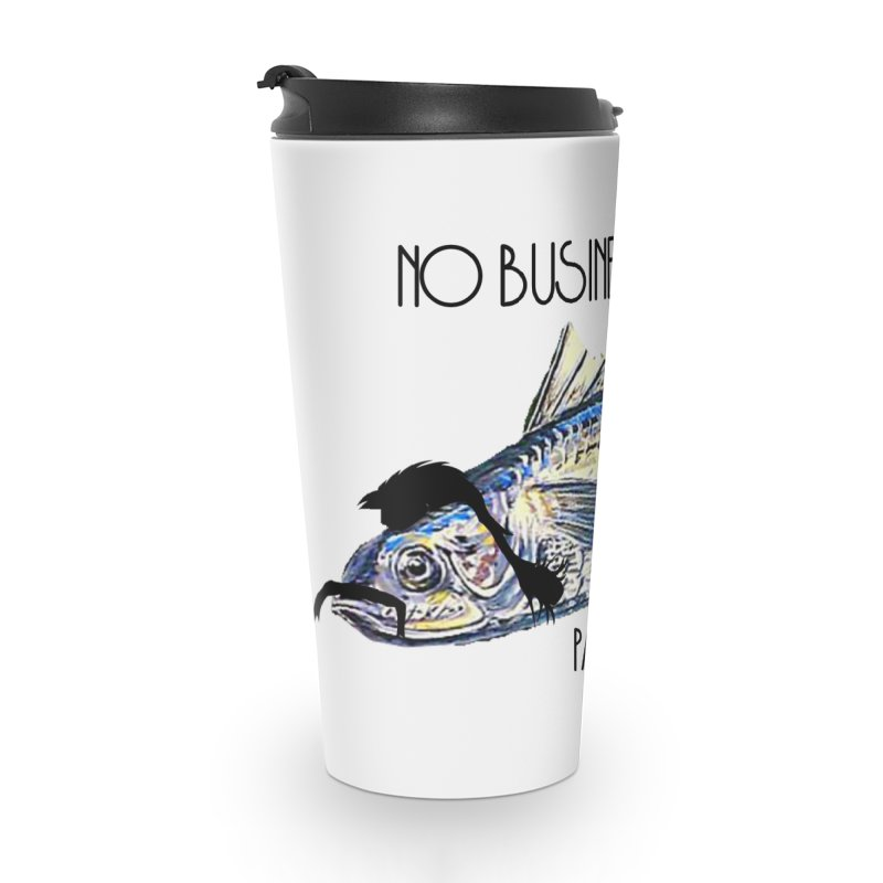 mullet Accessories Travel Mug by joe's shop